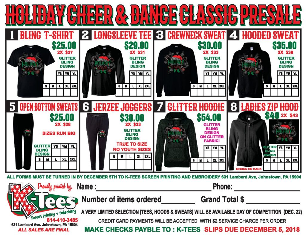 HOLIDAY CHEER AND DANCE PRESALE ORDER FORM-page-001